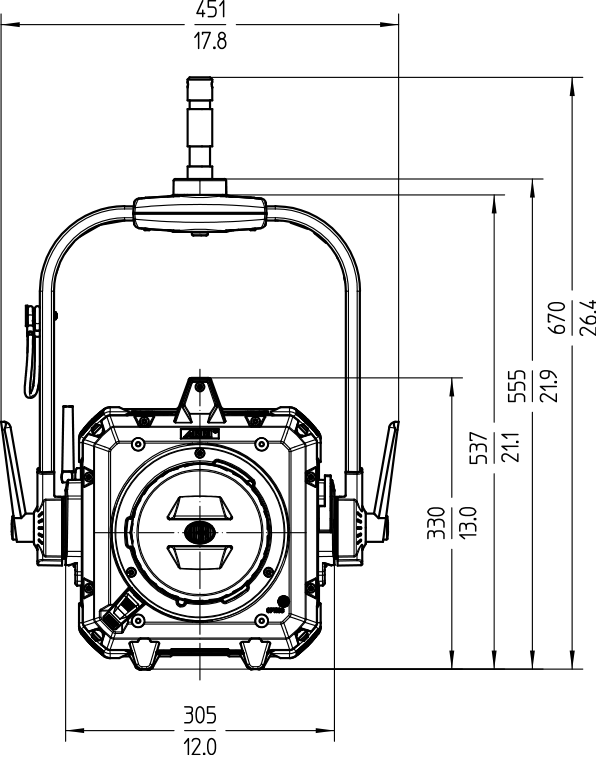Orbiter technical drawing